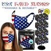 USA Reusable Face Masks - 288pc per Display