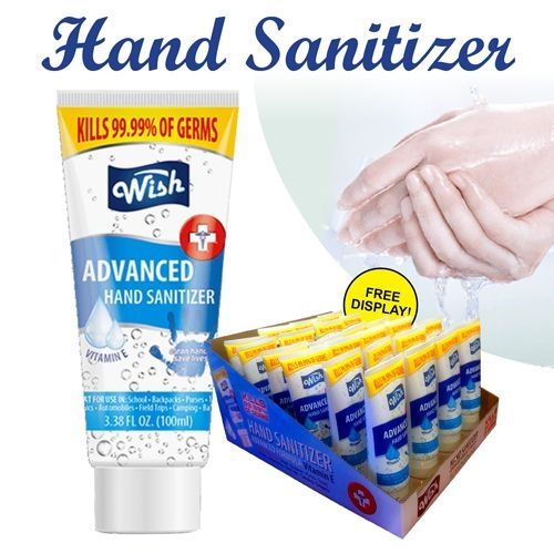 Hand Sanitizer 3.38 oz