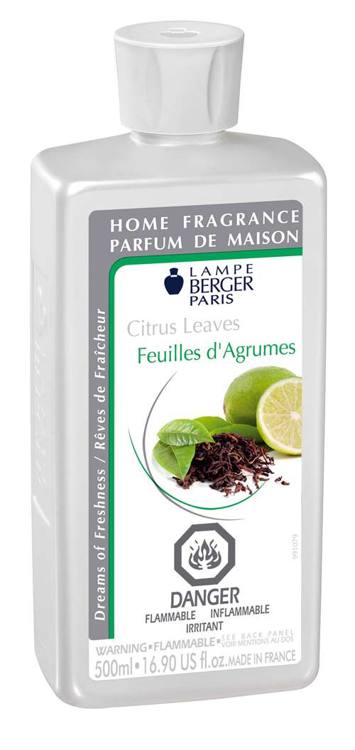 citrus leaves 500ml fragrance oil by lampe berger. Black Bedroom Furniture Sets. Home Design Ideas