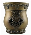Tyler Candle - Damask Matte Bronze - Radiant Fragrance Warmer