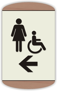 Women's s Directional Sign