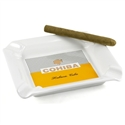 Cohiba Ashtray: 4 Cigar Square, White