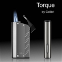 Colibri Torque Double-jet Flame Lighter (Brushed Metal & Black)