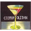 Cosmopolitan Cocktail Napkin