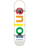 Enjoi Skateboards Spectrum White COMPLETE