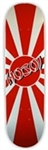 Hosoi Skateboards Rising Sun Deck - 8.25""