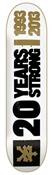 Zoo York Skateboards 20 Years Strong Deck