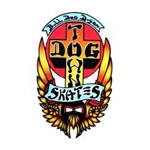 Dogtown Sticker Bull Dog Logo 3.75""