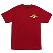 Independent T-Shirts 78 B/C Chest - Cardinal Red