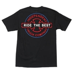 Independent T-Shirts All Night - Black