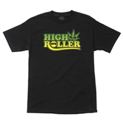 Creature Skateboards T-Shirts High Roller - Black