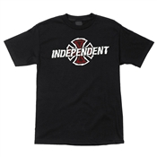 Independent T-Shirts Shredder Logo - Black
