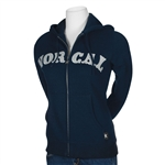 Nor Cal Zip Up Hoodies Girl's Nautical Navy