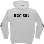Nor Cal Medieval Pullover Hooded Sweatshirt - Grey Heather