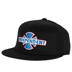 Independent Hats Stock O.G.B.C Flex Fit - Black