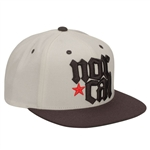 Nor Cal MDVL Adjustable Hat Wht/Blk