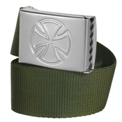 Independent Solo Web Belt - Military Green