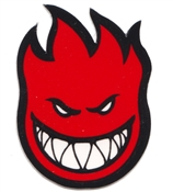 "Spitfire Bighead Fireball sticker LARGE. 8"" x 11.5"""
