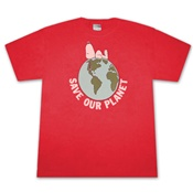Charlie Brown - T-Shirt - Snoopy Save Our Planet