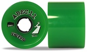 Abec 11 Classic Zigzags longboard wheels - 70mm/78a