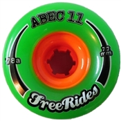 Abec 11 skateboard wheels Freerides  - 77mm/78a