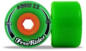 Abec 11 skateboard wheels Freerides  - 77mm/81a