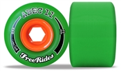 Abec 11 skateboard wheels Centerset Freerides  - 72mm/84a