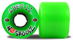 Abec 11 skateboard wheels NoSkoolz  - 60mm/75a