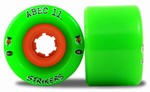 Abec 11 Strikers longboard wheels - 66mm