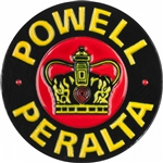 Powell Peralta Supreme Lapel Pin