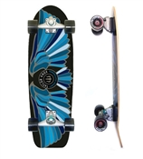 Carver Skateboards Fort Knox Blue Pre Built Complete