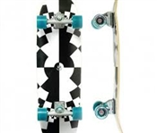 Carver Skateboards Fraktal Pre Built Complete