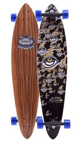 Arbor longboards fish koa complete for Arbor fish longboard
