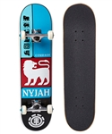 Element Skateboards Nyjah Prismatic Pre Built Complete - 7.7""