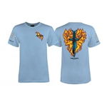 Bones Brigade Tee Shirts Tommy Guerrero -  Light Blue