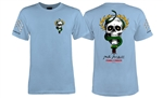 Powell Peralta Tee Shirts Bones Brigade McGill - Light Blue
