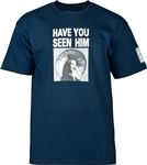 Powell Peralta T-Shirts Have You Seen Him? - Navy