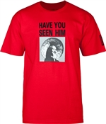 Powell Peralta T-Shirts Have You Seen Him? - Red