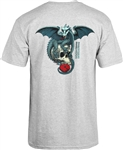 Powell Dragon Skull Grey