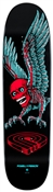 Powell Peralta Skateboards Fun Shape Winged Skull Deck - 8.2""