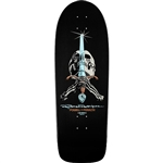 Powell Peralta skateboards Rodriguez Skull Sword Black