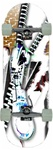 Koastal Skateboards - Zipper - COMPLETE