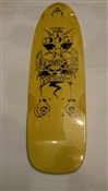 Dogtown Skateboards DECK Dominate Yellow Fade