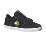 Element Heatley Shoes - Black Rasta
