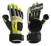 Loaded Longboards Free Ride Slide Gloves - Yellow