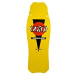 Hosoi Skateboards DECK OG Hammerhead Yellow