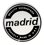 Madrid Circle Logo Sticker