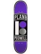 Plan B Skateboards Pudwill Arch Deck 7.7""