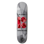 Plan B Skateboards Sheckler Jagged Deck - 7.7""