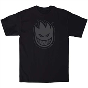 Spitfire T-Shirt Bighead Fill - Black